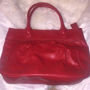 Red H&M bag